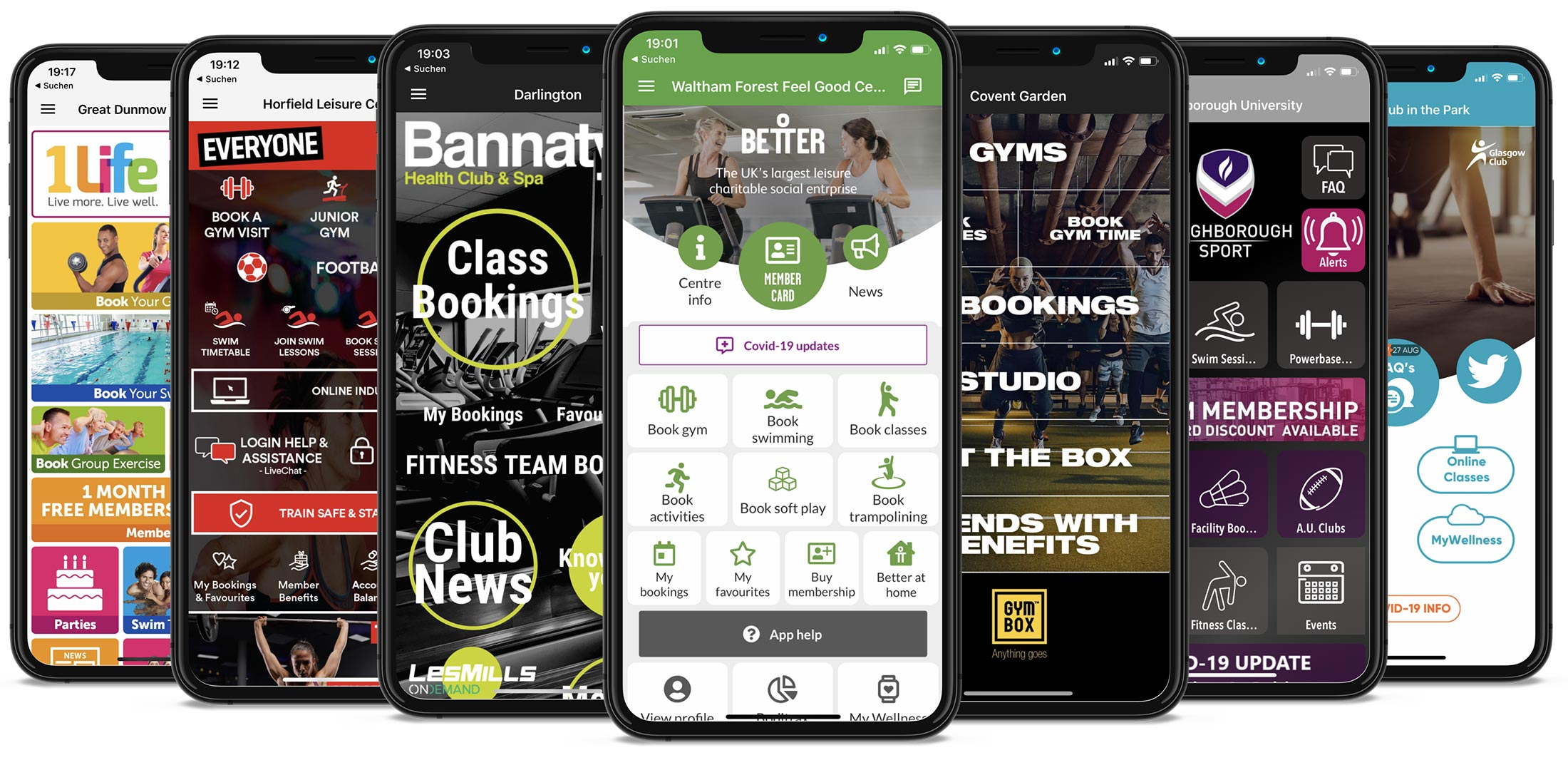 myFitApp Branded app flexible Design