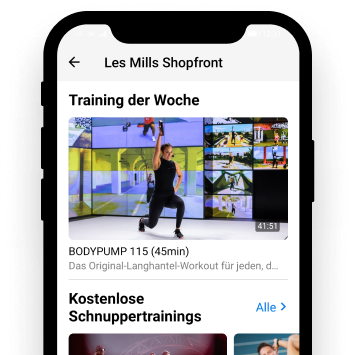 LesMills Content Video curate automatically