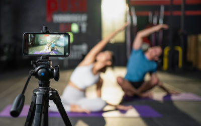 The future of the fitness class is hybrid