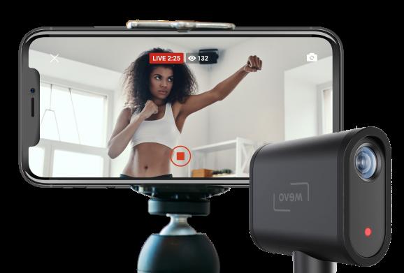 Livestreaming Trainer Kamera